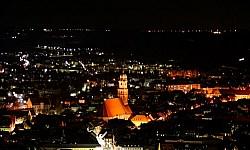 Amberg bei Nacht