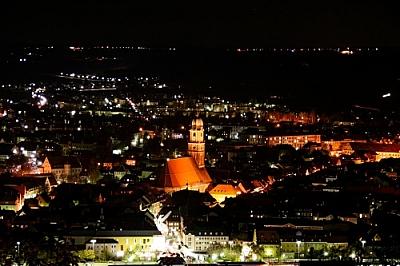 Photo: Amberg bei Nacht