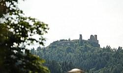 Burg über Hohenburg