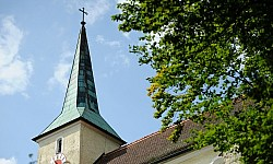 Wallfahrtskirche in Zant